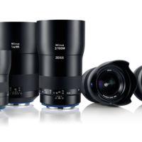 Zeiss presenta 6 nuevos objetivos diseñados para cámaras de alta resolución