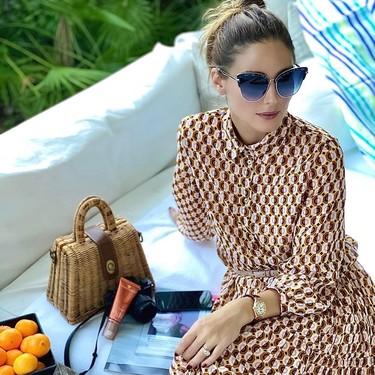 Fichamos dos vestidos de Olivia Palermo de Zara y Mango rebajados por menos de 30 euros