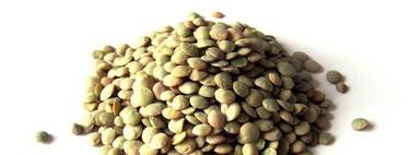 Análisis nutricional de una porción de legumbres