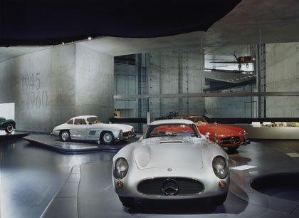 Mercede-Benz Museum, Stuttgart