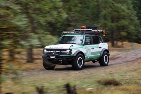 Ford Bronco + Filson Wildland Fire Rig Concept: Un guardabosques que presume de cientos de opcionales y capacidades del Bronco
