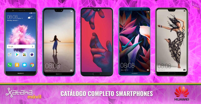 f16c0d60ed5e1 Catálogo móviles Huawei abril 2018