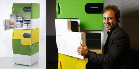 Flatshare Fridge, la nevera apilable