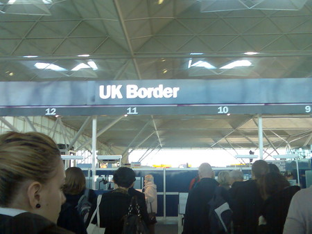 Uk Border Stansted