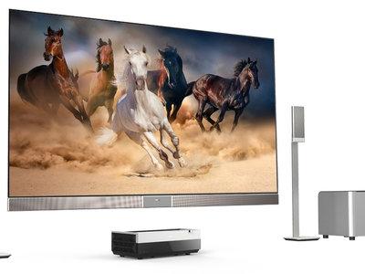 Hisense lleva al CES su tele-proyector láser de 100 pulgadas y su nueva gama de Smart TV con paneles ULED