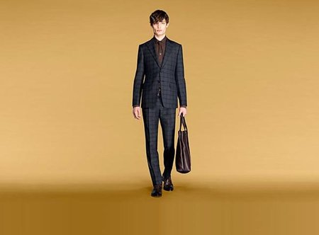 Un look business Gucci para hombre: el bolso es indispensable