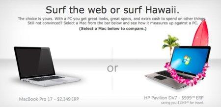 Microsoft crea una campaña de publicidad contra Apple en Canadá