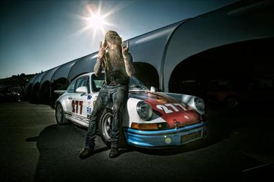 Magnus Walker, curioso coleccionista de Porsche 911