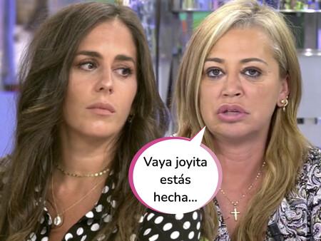 """Belén Esteban estalla en directo contra Anabel Pantoja: """"Llamó a mi empresa de joyas para recriminarles que hicieran una campaña conmigo"""""""