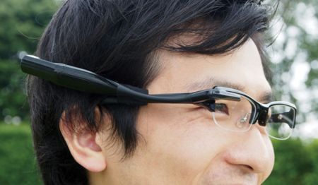 Olympus MEG4.0, otro rival para Google Glass