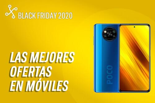 Los 35 mejores móviles en oferta por el Black Friday 2020 hoy 23 de noviembre: Xiaomi Poco X3 por 189€, Galaxy M31 por 199€ y más