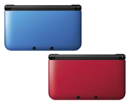 Nintendo 3DS XL en colores