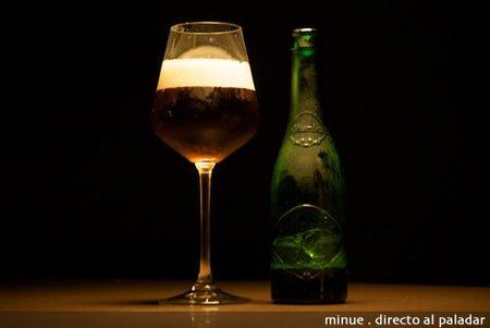 cata alhambra - botella y copa