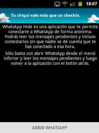 WhatsApp Hide