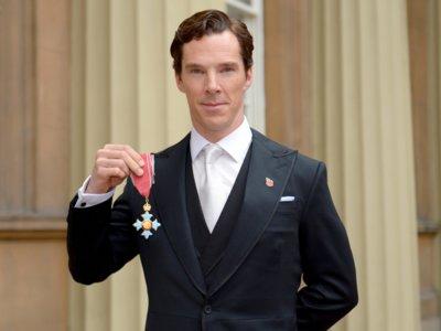 Benedict Cumberbatch ya es un caballero de su Graciosa Majestad