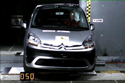 Citroën C4 Picasso - EuroNCAP