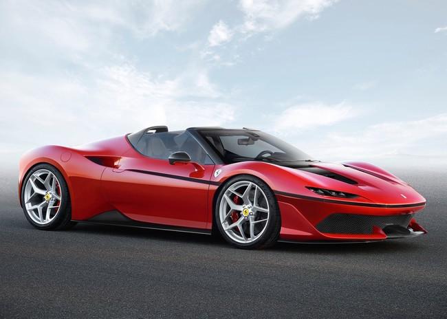 Ferrari J50, hay formas de celebrar y los de Maranello saben cómo