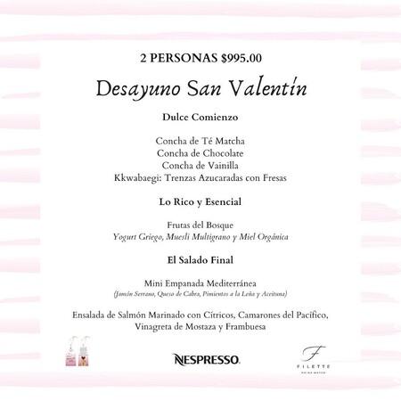 Menú de San Valentin para el Día del Amor y la Amistad Restaurante Lur en la Ciudad de México del Chef Mikel Alonso