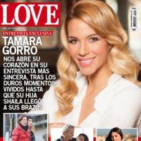 Tamara Gorro, premio a la sonrisa más forzada