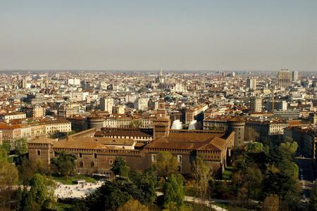 Vistas desde Torre Branca Milán