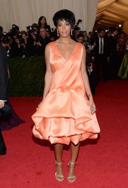 Solange Knowles de 3.1 Phillip Lim Gala MET 2014
