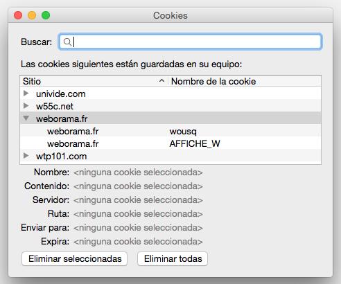 Firefox Lista