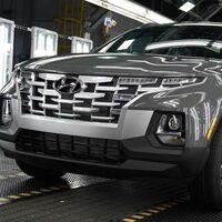 Hyundai ha dado inicio a la producción de Hyundai Santa Cruz, las primeras unidades comienzan a salir del horno