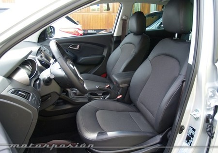Hyundai ix35 2013 prueba en Madrid 32