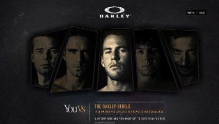Oakley te permite competir con reconocidos atletas vía Facebook Connect
