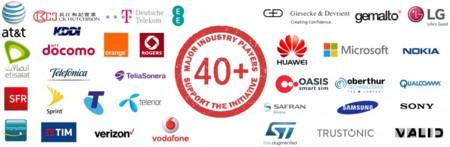 Empresas que apoyan la implantación de la eSIM
