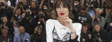 Paz Vega llegó al Festival de Cannes con un trampantojo lencero del diseñador español del momento y nos conquistó a todos