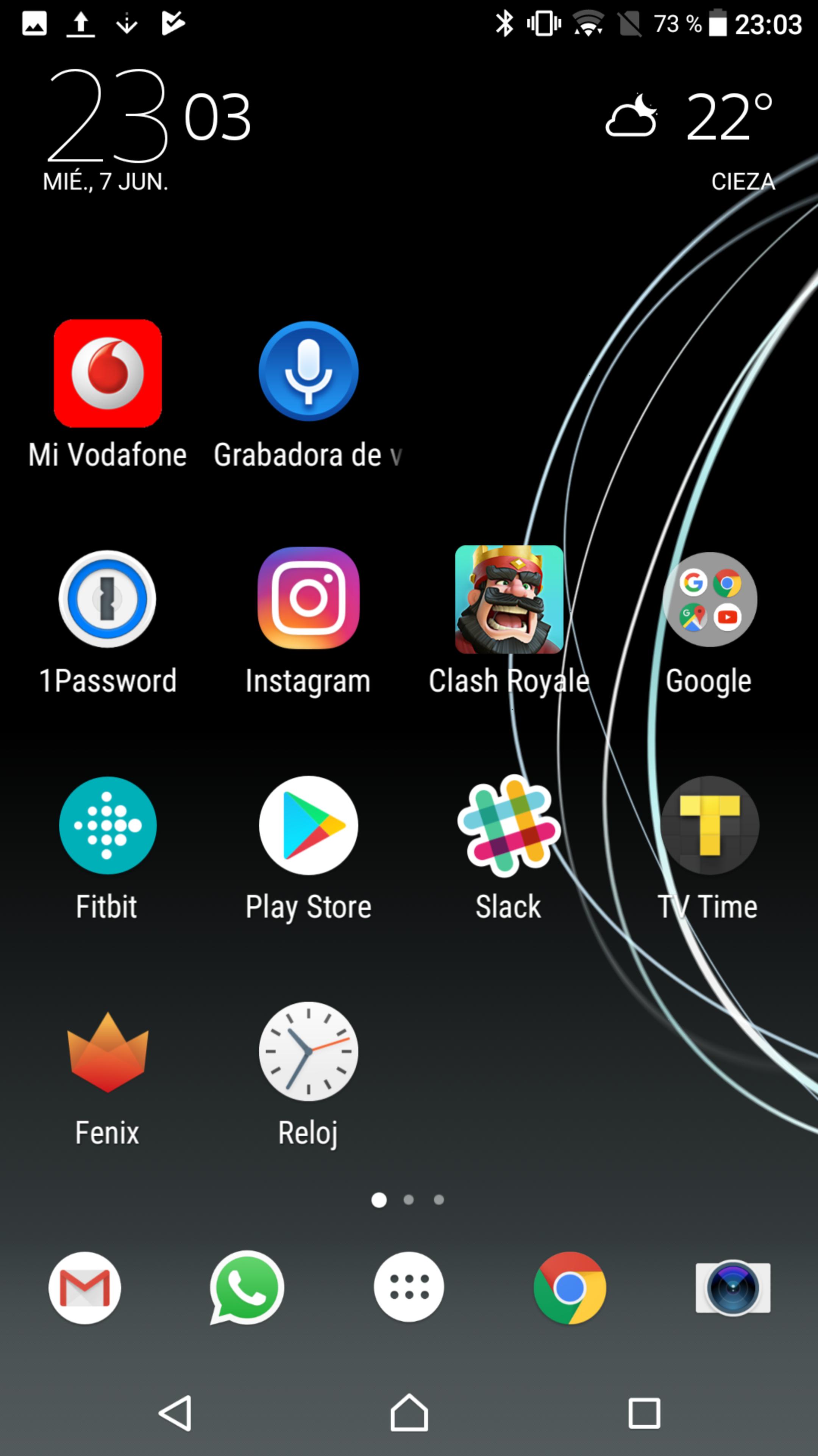 Xperia XZ Premium interfaz