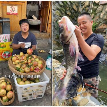 Los jóvenes rurales están revolucionando el TikTok chino (y hacen millones vendiendo fruta y verdura en la red social)