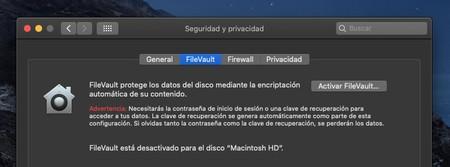 Filevault Mac
