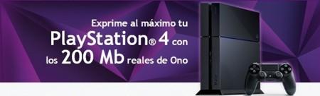ONO ofrece 200 Mbps a precio de 100 Mbps y un año de PSN+ gratis a los dueños de una PS4