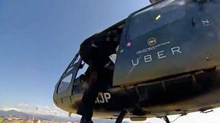 Uber Chopper, podría ser la nueva opción en la Ciudad de México