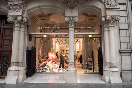 Anthropologie, por fin, llega a España tras abrir su primera tienda en el Paseo de Gracia de Barcelona