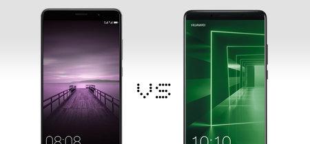 Del Huawei Mate 9 al Huawei Mate 10: esto es todo lo que ha cambiado