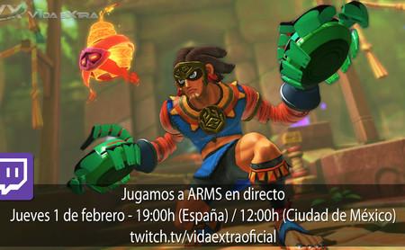 Streaming de las últimas novedades de ARMS a las 19:00h (las 12:00h en CDMX)