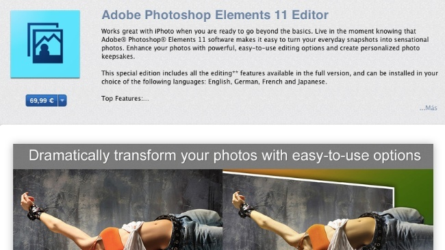 adobe photoshop elements 11 editor mac app store apple
