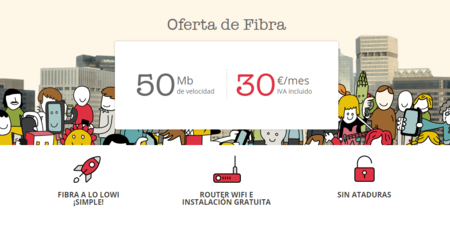 Vodafone redobla su apuesta por la fibra para estudiantes, ahora con Lowi por 30 euros