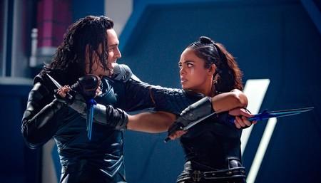 Loki y Valkiria en Thor Ragnarok