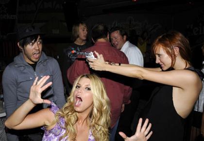 Las fiestas de Jessica Simpson son muy locas
