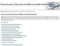 Nuevos servicios de obtención de información en la Seguridad Social por SMS, sin firma digital