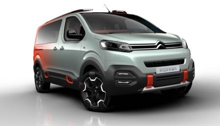 Citroën SpaceTourer Hyphen quiere hacer de tus paseos algo muy divertido