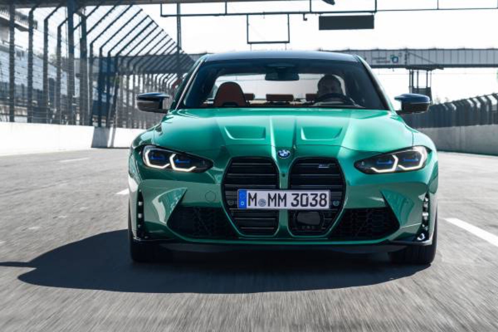 Foto de BMW M3 Competition 2021 (12/40)