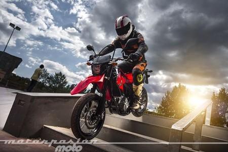Honda CRF250M, prueba (características y curiosidades)