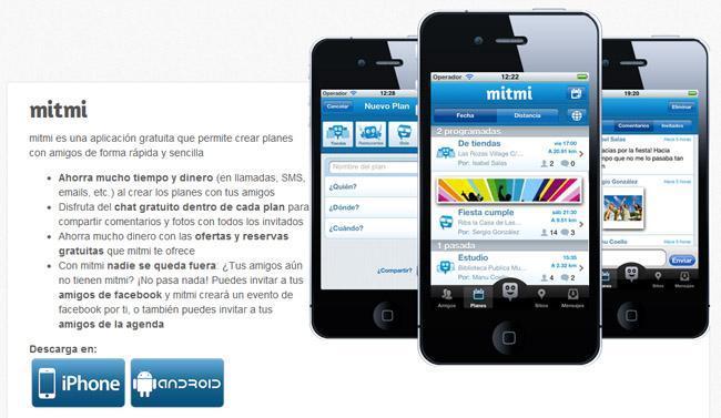 Mitmi para iOS y Android