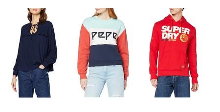 Chollos en tallas sueltas para renovar armario este otoño: marcas como Pepe Jeans, Desigual o Superdry de oferta en Amazon