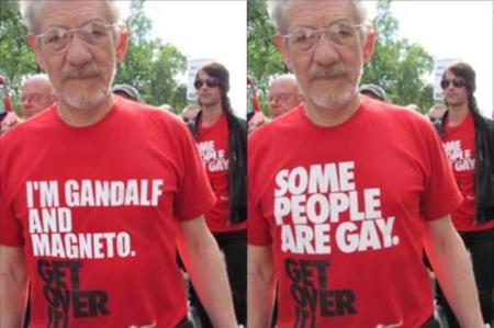 Cazadores de fakes: no, los actores no llevaban esas camisetas